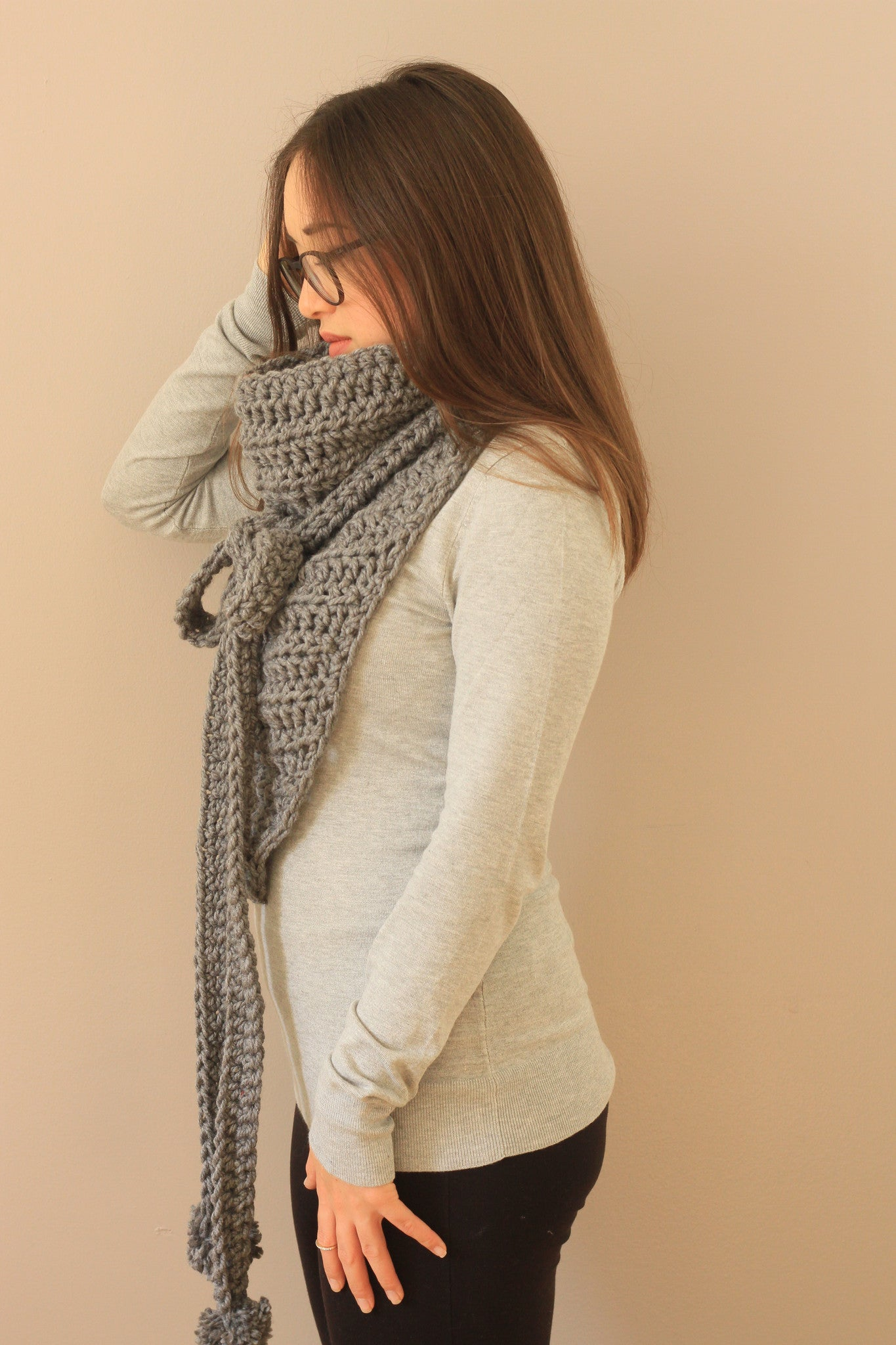 pretty crochet cowl gift ideas for her montreal canada