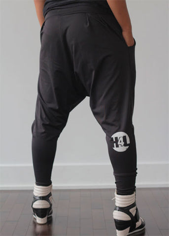 H4L Harem Pants in Black