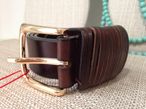 The Kaylee Leather Jean Belt - Two Elle's Boutique