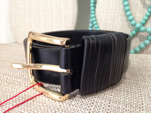 The Kaylee Leather Jean Belt - Two Elle's Boutique  - 2