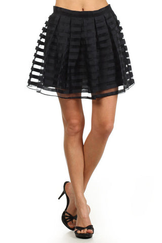 Party Skirt by Freeway - Two Elle's Boutique  - 1