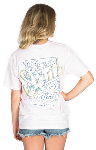 Welcome to the South by Lauren James - Pink - Two Elle's Boutique