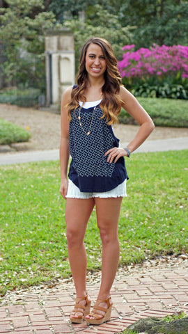 Tiny Texas Tank - Two Elle's Boutique  - 1