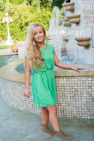 Callie Lace Dress - Two Elle's Boutique  - 1
