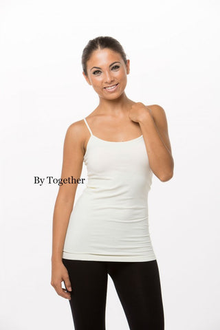 Seamless Tunic Camisole - Two Elle's Boutique  - 1