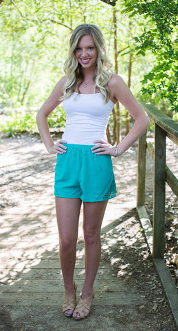 Jade Shorts - Two Elle's Boutique  - 1
