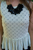 Layered Beaded Necklace - Two Elle's Boutique  - 2