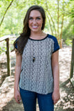 Serengeti Top - Two Elle's Boutique