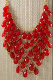 Beaded Bib Necklace - Two Elle's Boutique  - 10