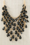 Beaded Bib Necklace - Two Elle's Boutique  - 8