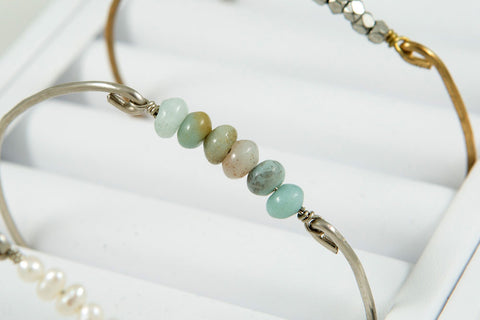 Bangle, Beaded - Two Elle's Boutique