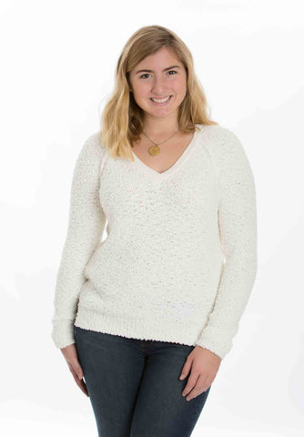 Teddybear Sweater (Ivory) by Sanctuary - Two Elle's Boutique  - 1