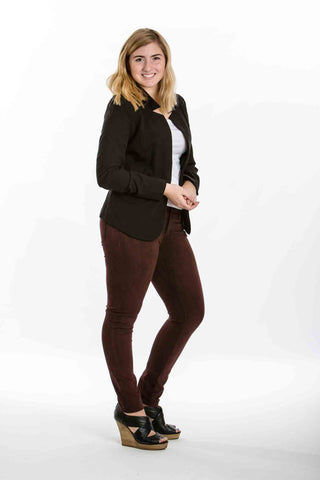 Classic Black Blazer - Two Elle's Boutique