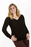 Teddybear Sweater (Black) by Sanctuary - Two Elle's Boutique  - 1