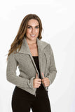 Riley Jacket in Herringbone by Amour Vert - Two Elle's Boutique  - 2
