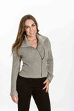 Riley Jacket in Herringbone by Amour Vert - Two Elle's Boutique  - 3