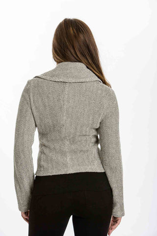 231c4536ce9f00 ... Riley Jacket in Herringbone by Amour Vert - Two Elle s Boutique ...