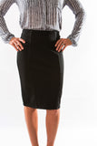 Yoko Skirt in Tap Shoe (Black) by Black Swan - Two Elle's Boutique  - 3