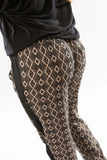 Taupe Printed Pants by Olive & Oak - Two Elle's Boutique  - 5