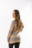 Twig Striped Sweater by Olive & Oak - Two Elle's Boutique  - 3