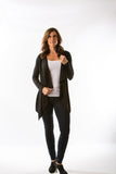 Pearl Cardigan (Black) by Amour Vert - Two Elle's Boutique  - 1