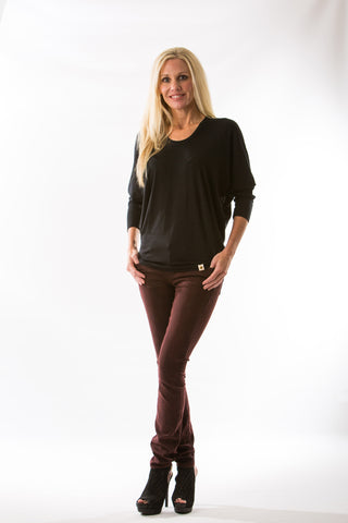 Mya Iconic Skinny, Deep Red by Articles of Society - Two Elle's Boutique  - 1
