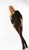 Mya Iconic Skinny, Deep Red by Articles of Society - Two Elle's Boutique  - 2