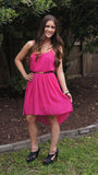 Pretty in Pink Dress - Two Elle's Boutique