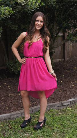 Pretty in Pink Dress - Two Elle's Boutique  - 1