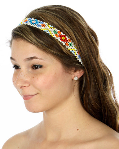 Beaded Stretch Headbands - Two Elle's Boutique  - 1