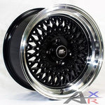 MST MT05 15x8.0 4x100 et20 Black Wheels Rims Fits Civic Ef Ek Eg Miata Mr2