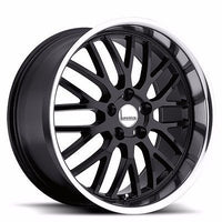 17x8 Lumarai Kya BLACK Wheel 5x114.3  5x4.5  ET37