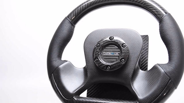 NRG NEW CARBON FIBER STEERING WHEEL 320MM  ST-X10CF