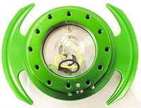 NRG BALL LOCK QUICK RELEASE GEN 3.0 GREEN BODY/ GREEN PADDLE SRK-650GN