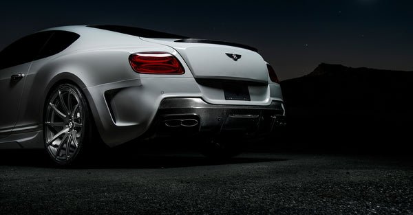 Vorsteiner Bentley Continental GT V8 Rear Bumper