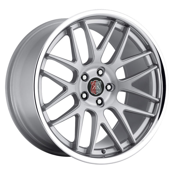 MRR | RW6 Silver with Chrome Lip