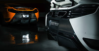 Vorsteiner McLaren MP4-12C Rear Bumper
