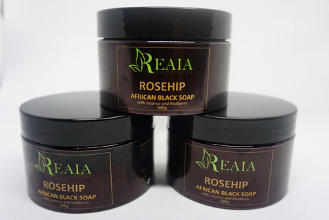 ROSEHIP AFRICAN BLACK SOAP