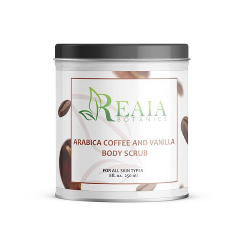 ARABICA COFFEE AND VANILLA SCRUB