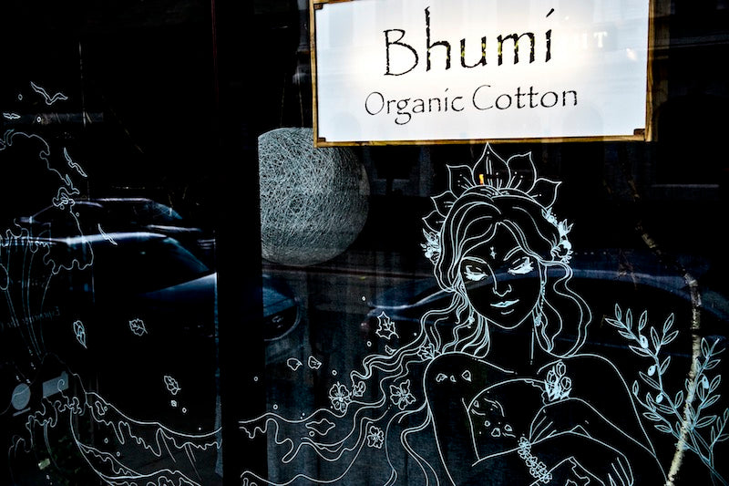 Bhumi Organic Cotton - Window Art