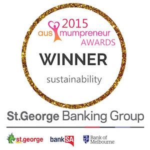 Vinita - Winner of Ausmumpreneur Sustainability Award