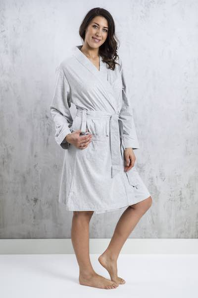 Bhumi Organic Cotton Lightweight Robe