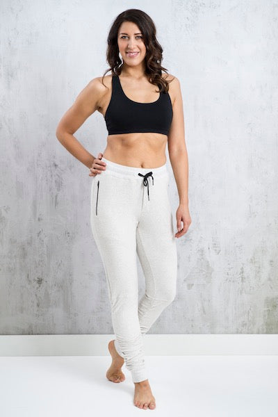 Shirring Joggers - Yoga & Activewear