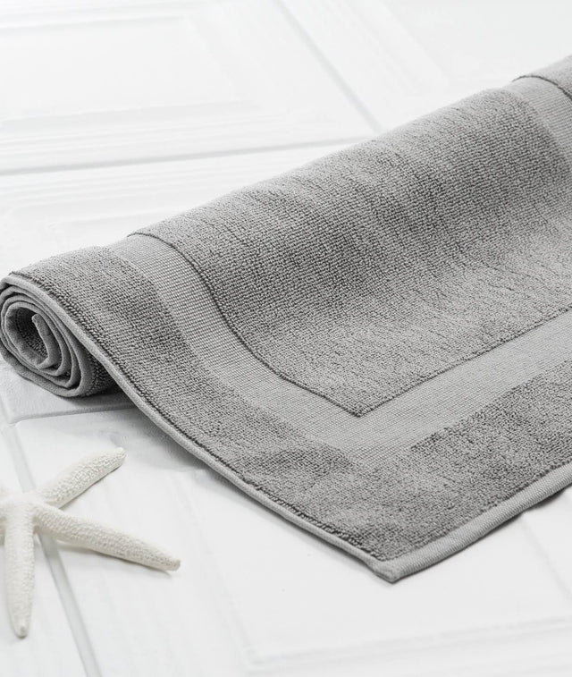 Bhumi Organic Cotton - Bath Mat - 3 Pack - Grey