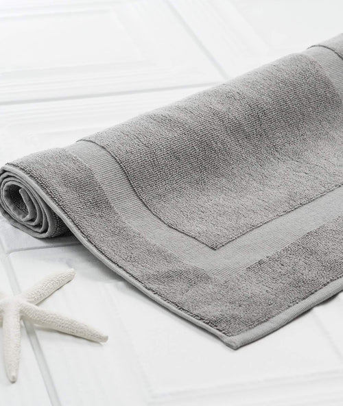 Bhumi Organic Cotton - Bath Mat - Grey