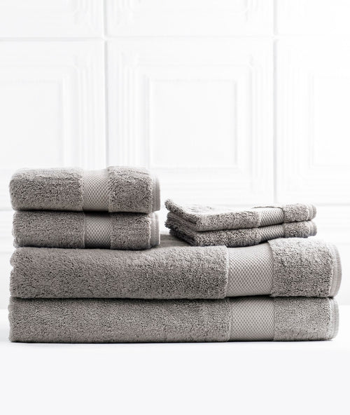 Bhumi Organic Cotton - Bath Sheet Bundle - Grey