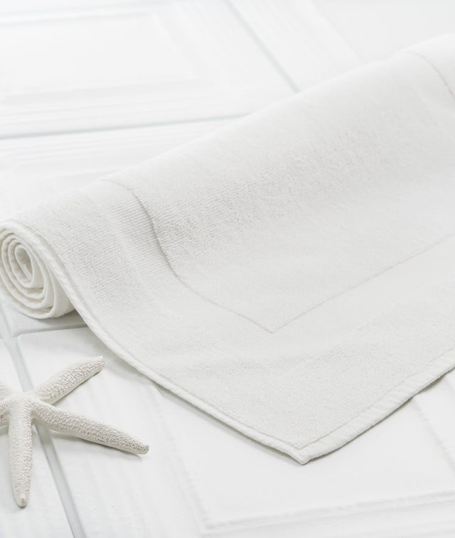 Bhumi Organic Cotton - Bath Mat - White