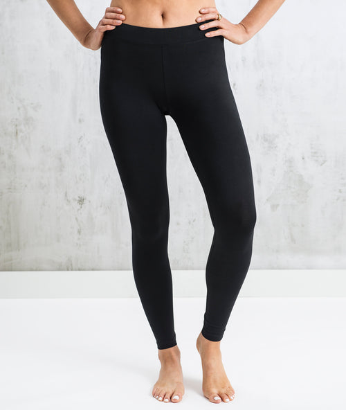 Bhumi Organic Cotton - Leggings - Plain - Black