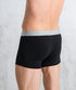 Bhumi Organic Cotton - Trunks Mid Length (2 Pack) - Black