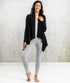 Bhumi Organic Cotton - Flowing Cardigan - Black